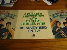 The Beatles Vintage Promo Poster rock and roll music 1976
