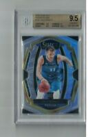 Luka Doncic 2018-19 Panini Select SILVER PRIZM Refractor #25 Rookie Card BGS 9.5