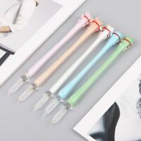 1pc Multi-color Cat Glass Dip Pen Signature Pen Handmade Füller & Schreibartikel