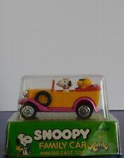 Vintage Peanuts Snoopy & Gang Aviva Die-Cast Hard To Find In Package