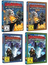 Dragons - Die  Wächter von Berk Staffel 2  - Vol.1 + 2 + 3 + 4 Neu (OVP)  DVD