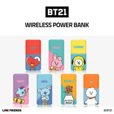 Official LINE FRIENDS BT21 Wireless Power Bank 10,000mAh Phone Portable Charger