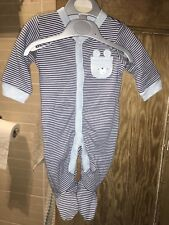 3 In 1 baby boy babygrows 0-3 months From Baby Mini Club