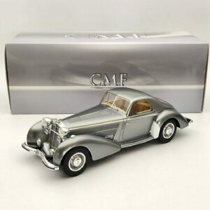 CMF 1:18 Horch 853 Spezial Coupe By Erdmann & Rossi 1937 Metallic Grey CMF18150