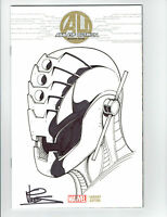 ULTRON ORIGINAL ART SKETCH BY DEXTER VINES  AGE OF ULTRON #1