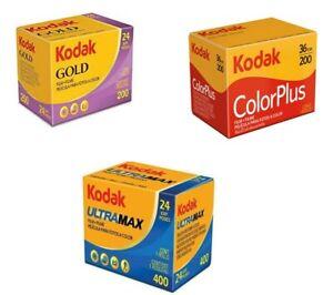 Kodak 3 Pack- Kodak Ultramax, Kodak Gold, Kodak Colorplus (84 Exposures)