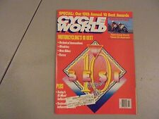 OCTOBER 1988 CYCLE WORLD MAGAZINE,13TH ANNUAL 10 BEST AWARDS,BIKES,RACES,AMA