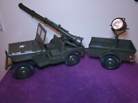 GI Joe 5 Star Jeep 7000 Windshield New 3D Printed Parts