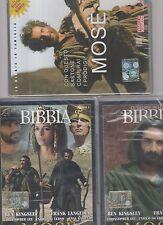 mose - 3 dvd - storie della bibbia