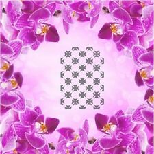 Ornament Pattern - 4, Airbrush Nail Stencil self-adhesive