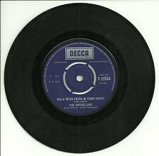 THE BACHELORS - WALK WITH FAITH IN YOUR HEART - DECCA- 1966 - IRISH 60s POP BEAT