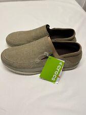 Crocs Men's Santa Cruz Playa Slip-On Loafers - Choose SZ 8 Brand New FREE SHIP