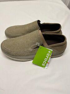 Crocs Men's Santa Cruz Playa Slip-On Loafers - Choose SZ 7 Brand New FREE SHIP