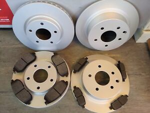 NISSAN JUKE FRONT & REAR BRAKE DISCS & PADS 1.5 DCI,1.6 2010-2017(NOT 1.6 DIG-T)