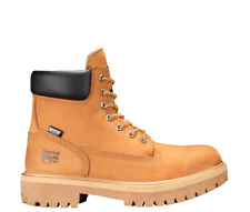 "Men's Timberland PRO DIRECT ATTACH 6"" Soft Toe Waterproof Work Boots Wheat 65030"