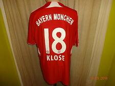 """FC Bayern München Adidas Heim Trikot 2007/08 """"-T---Home-"""" + Nr.18 Klose Gr.M- L"""