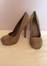 Kurt Geiger Suede Slim Heel Shoes for Women