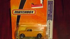 Rare matchbox 1965 austin mini van