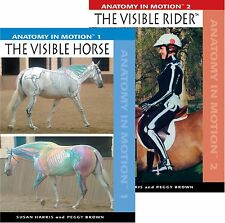 Anatomy in Motion : The Visible Horse & The Visible Rider : Set of 2 DVD's