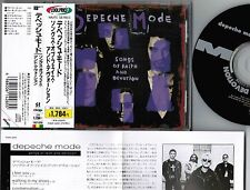 Ex+! DEPECHE MODE Songs Of Faith&Devotion JAPAN CD TOCP-3293 w/OBI+INSERT FreeSH