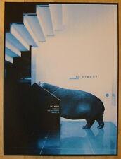 2012 Jack White - Memphis Silkscreen Concert Poster by Rob Jones S/N