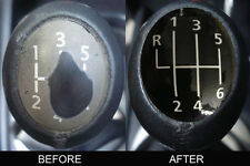 Renault Megane II Laguna Vel Satis Espace 6 Gear Knob Sticker Vinyl TL.