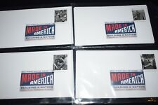 First Day of Issue - Complete Set of 12 Made In America - August 8 2013