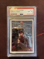 2003 Topps Chrome #111 Lebron James RC Rookie Cavaliers PSA 8 NM-MT
