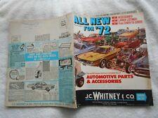 J.C.WHITNEY & CO. #298-1972 AUTOMOTIVE PARTS & ACCESSORIES VINTAGE