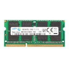 For Samsung 8GB 8G DDR3L 1600MHz PC3L-12800S 2RX8 SO-DIMM Memory Laptop RAM @2H