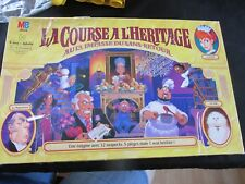 La Course A L'Heritage 13 Dead End Drive in French Board Game MB 1993