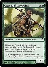 4x Survivalista di Oran-Rief - Oran-Rief Survivalist MTG MAGIC Zen Ita