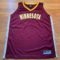 Minnesota Golden Gophers VTG 90's NIKE NCAAM Basketball Jersey XL Rare EUC