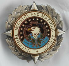 RARE - NATIONAL IMAGERY AND MAPPING AGENCY BREAST ID BADGE