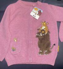 Pink Gruffalos Child Cardigan Age 2-3 Years