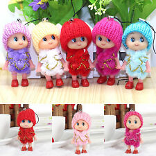 GOOD 5Pcs Kids Toys Soft Interactive Baby Dolls Toy Mini Doll For Girls