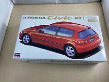 Hasegawa 1/24 Honda Civic SiRII Plastic Model CD6