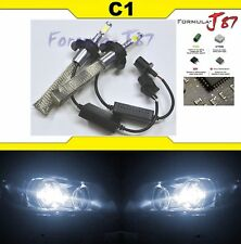 LED Kit C1 60W 9008 H13 5000K White Two Bulbs Head Light Replacement Snowmobile
