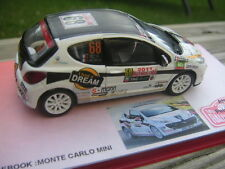 Decal 1 43 PEUGEOT 207 RC N°68 Rally WRC monte carlo 2011 montecarlo