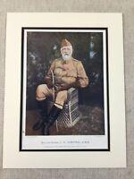 1900 Militare Stampa Ritratto Maggiore Generale George Dartnell Natal Campo