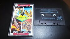 COMMODORE 64 GAME 4 QUATTRO FIRE POWER 4 GAMES, TESTED