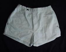 Short Shorts - White - Size M - 2 Side & 1 Back Pocket - Summer Fun! - Hot!