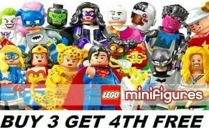 LEGO MINIFIGURES SUPERHEROES DC COMICS 71026 BUY ANY 3 GET 4TH FREE