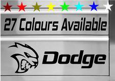 DODGE CHALLENGER HELLCAT TOOLBOX VINYL DECAL STICKER