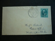 Postal History -USA -Large Banknote Issue Cover -Bethlehem, PA to Washington, DC