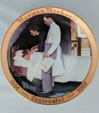 """Norman Rockwell """"Freedom From Fear� Collector's Plate - Limited Edition"""