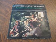45 tours CREEDENCE CLEARWATER REVIVAL travelin' band