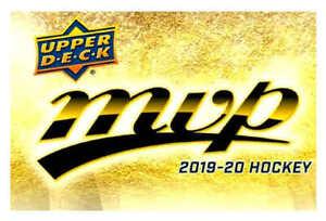 19/20 2019 UD UPPER DECK MVP HOCKEY BASE TEAM SETS ANA-WIN U-Pick Team From List