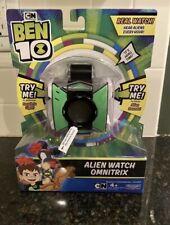 Brand New Ben 10 Alien Watch Omnitrix Cartoon Network Alien Sounds & Lights