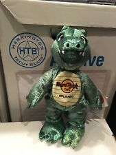 HARD ROCK CAFE ORLANDO 2003 ALLIGATOR CITY TEDDY BEAR HERRINGTON ARCHIVE TAG